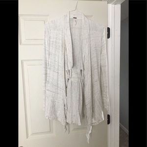 Free People Drapy Fringe Cardigan